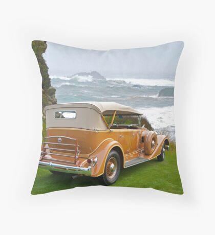 1934 Packard Touring Super Eight Throw Pillow