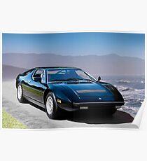 1980 Maserati Merak SS Poster