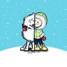 Eskimo Kisses by offleashart