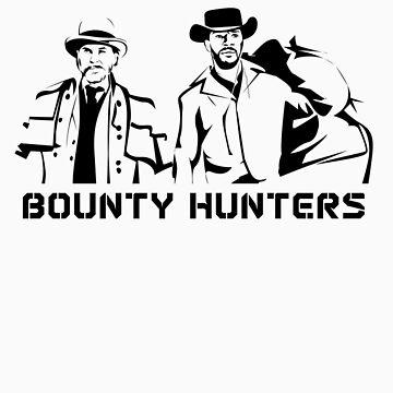 Django Unchained - Bounty Hunters Shirt by Roadie212