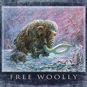 Free Woolly Mammoths from Ice Age by MudgeStudios