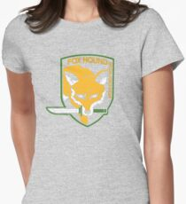Metal Gear Solid - Fox Hound Womens Fitted T-Shirt