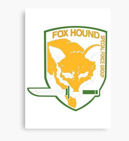 Metal Gear Solid - Fox Hound Canvas Print