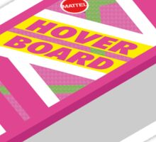 Back to the Future Hoverboard (floating) Sticker