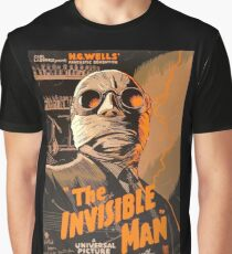 The Invisible Man - Retro Graphic T-Shirt