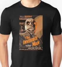 The Invisible Man - Retro Unisex T-Shirt