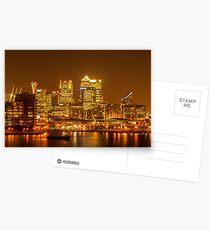 Canary Wharf Postcards