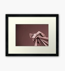 In To Space Framed Print