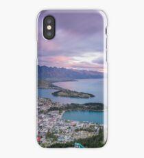 Queenstown Sunset iPhone Case