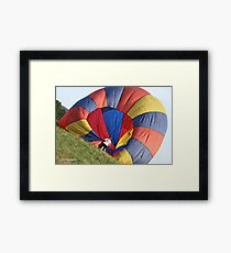 Hot Air Ballon Framed Print