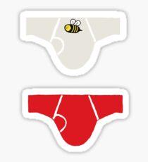 Detective's Underwear Sticker