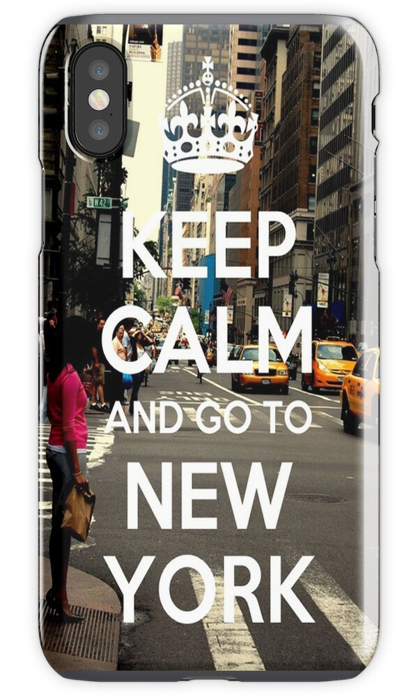 how to add a calendar to iphone quot keep calm and go to new york iphone quot iphone cases 7343