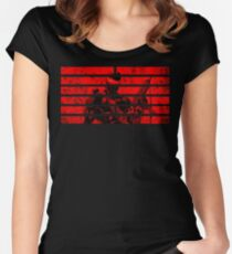 Snake Eyes Symbol Women's Fitted Scoop T-Shirt