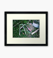 Decay 5 Framed Print