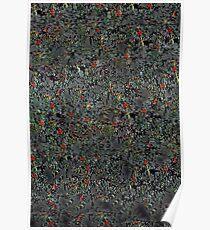 Abstract eucalyptus Poster