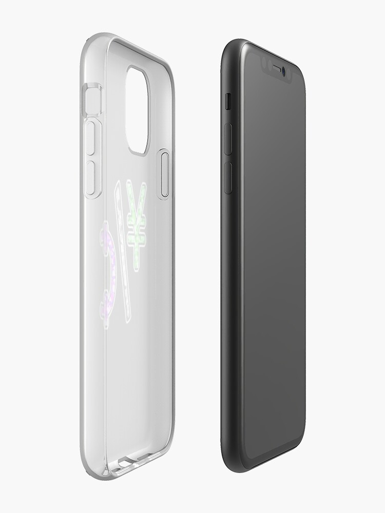 Coque iPhone « YEN & CENTS », par yungchukk