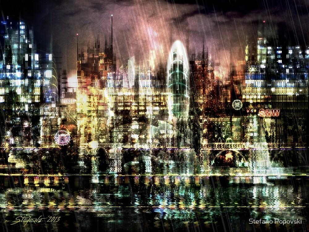 Night-Scape II by Stefano Popovski