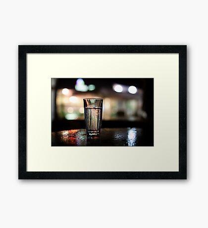forgotten glass Framed Print