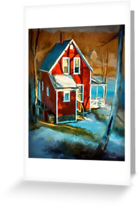 Read cottage, New Harbor Maine  by Dave  Higgins
