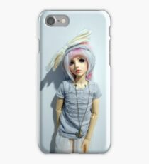Robin (pure white) iPhone Case/Skin