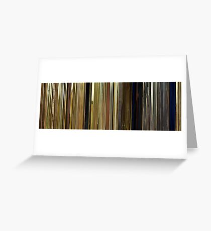 Moviebarcode: Moonrise Kingdom (2012) Greeting Card