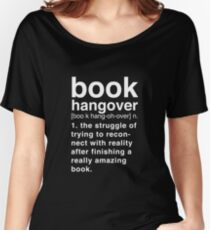 Black Book Hangover Meaning Women's Relaxed Fit T-Shirt
