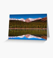 The Predawn Landscape Greeting Card