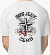 Subject Zero- To Err is All Classic T-Shirt