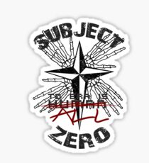 Subject Zero- To Err is All Sticker