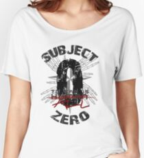 Subject Zero- To Err is All- Variant Women's Relaxed Fit T-Shirt