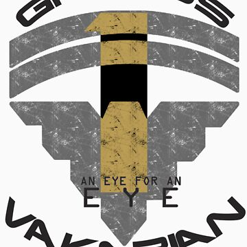 Garrus Vakarian- Eye for an Eye Variant  by hoiist