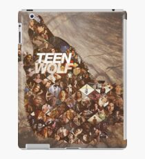 Teen wolf forest iPad Case/Skin