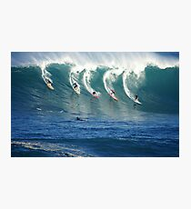 Waimea Bay Watermen Photographic Print