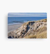 Dune & Beach Canvas Print