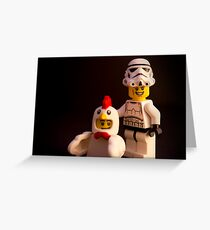 "Say ""chicken"" Greeting Card"