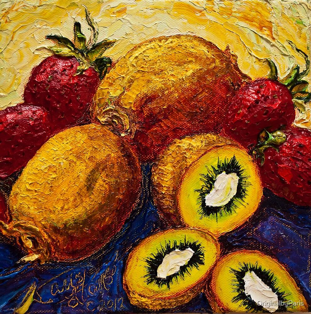Strawberries & Kiwis by OriginalbyParis