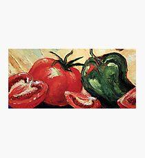Garden Vegetables Photographic Print