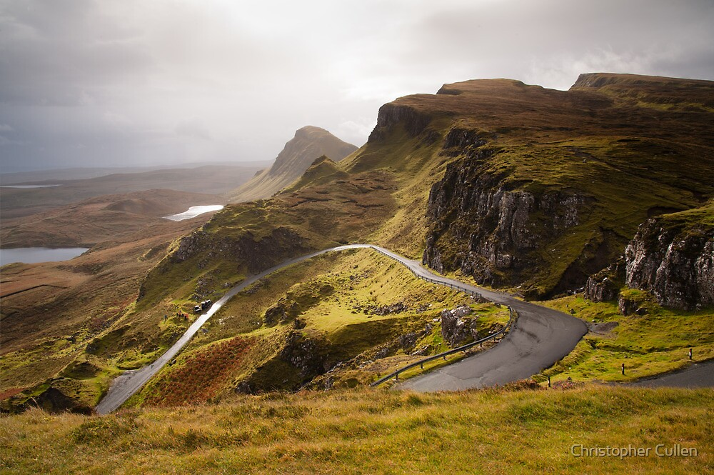 Quiraing Skye by Christopher Cullen