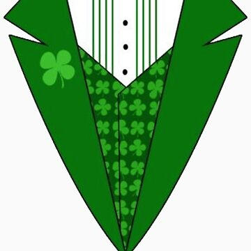 St. Patrick's Day Tux by CreatingRayne