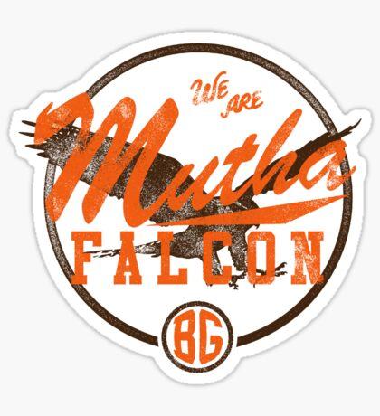 Mutha Falcon BG Sticker