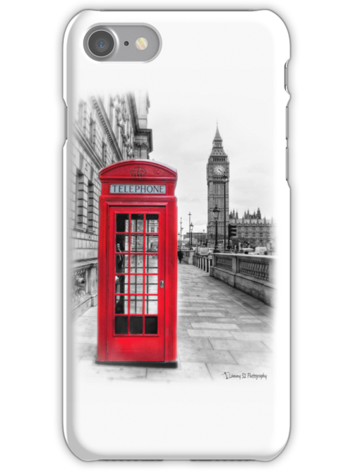 Red Phone Box by Mark  Swindells
