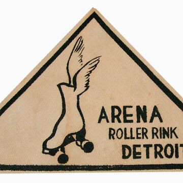 Detroit Arena Roller Rink by krawlspace