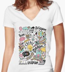 Everyday Women's Fitted V-Neck T-Shirt