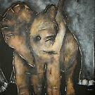 Baby Elephant 3 by Tom Norton