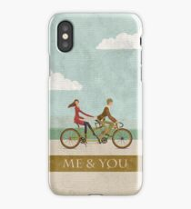 Me & You Bike iPhone Case