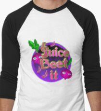 Juice beet it from valxart.com Men's Baseball ¾ T-Shirt