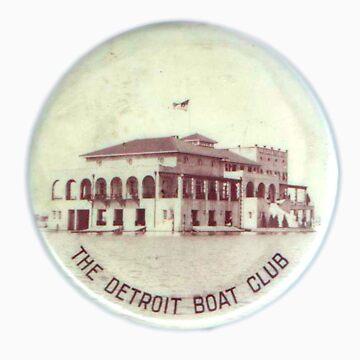 Vintage Detroit Boat Club ca. 1900 by krawlspace