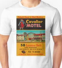Vintage Cavalier Motel Detroit Ad Unisex T-Shirt