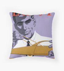 Vintage Detroit Designer CAD Men Throw Pillow