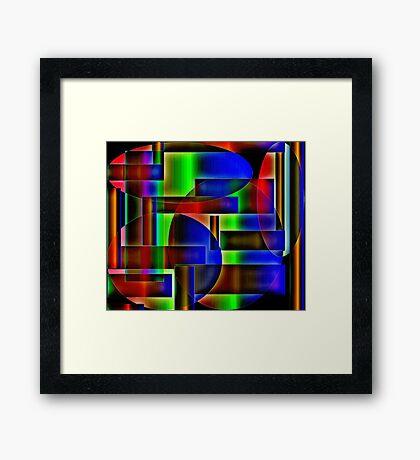 Influences Framed Print